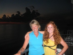 Margie Fox with daughter Leah