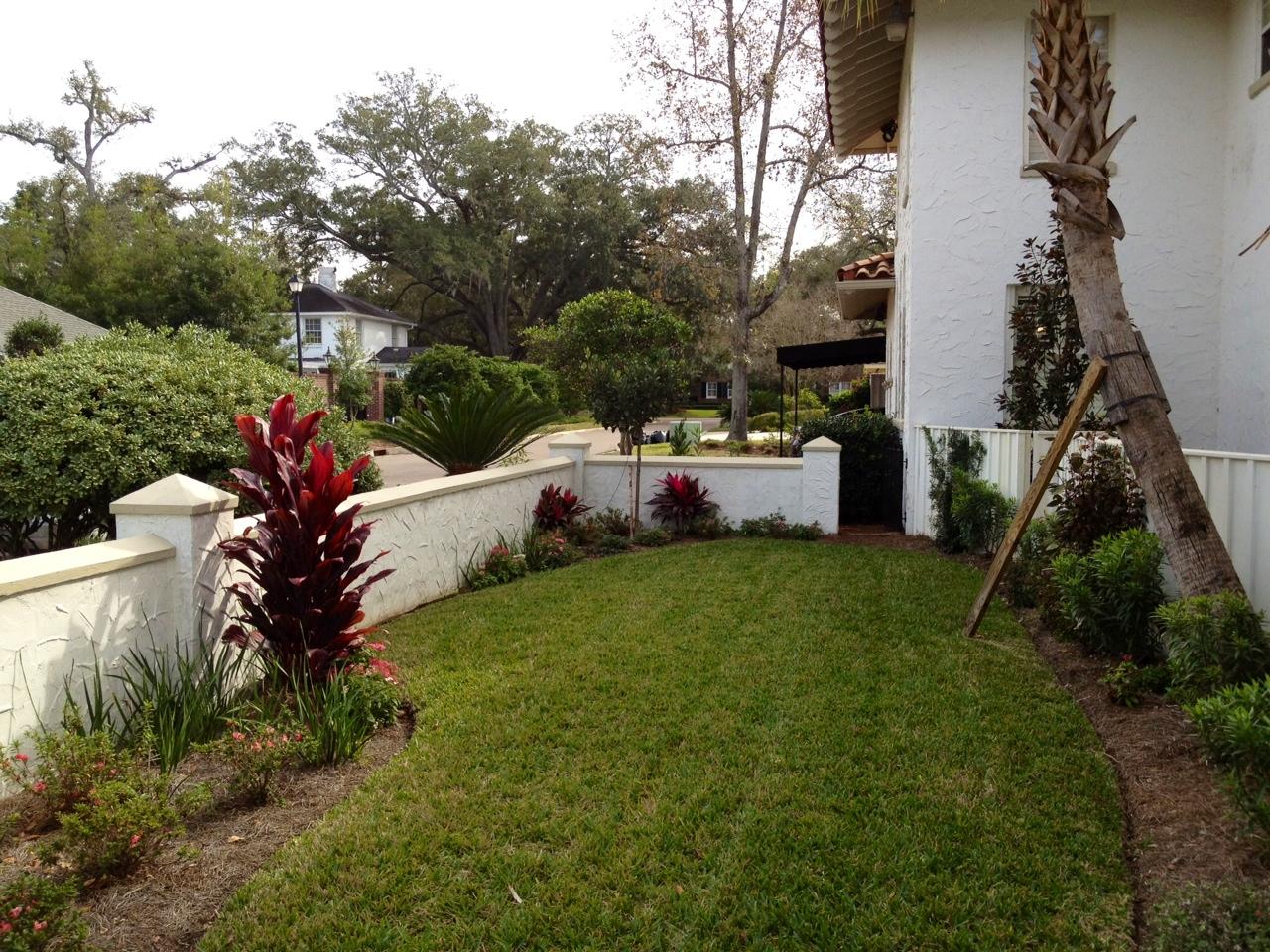 Amazing landscape design jacksonville fl foxy foliage for Amazing garden designs